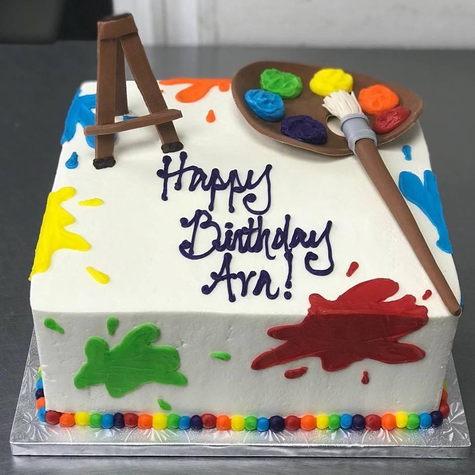 Tremendous Birthday Cakes Sugar Bakers Cakes Personalised Birthday Cards Sponlily Jamesorg
